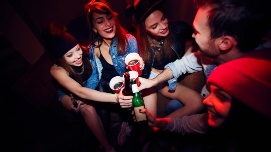 Teens in Alberta alcohol and party addiction