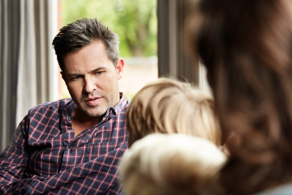 Addict Intervention Affects Family